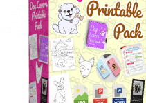 Dog Lovers Printable Pack Review – Get 10x Printable Sticker for Dog Lovers