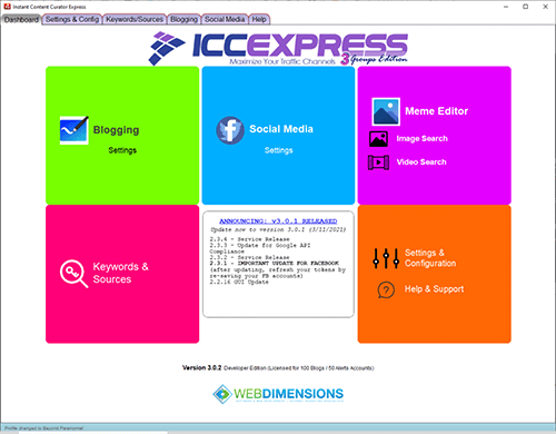 ICC Express 3.0 Groups Edition Review
