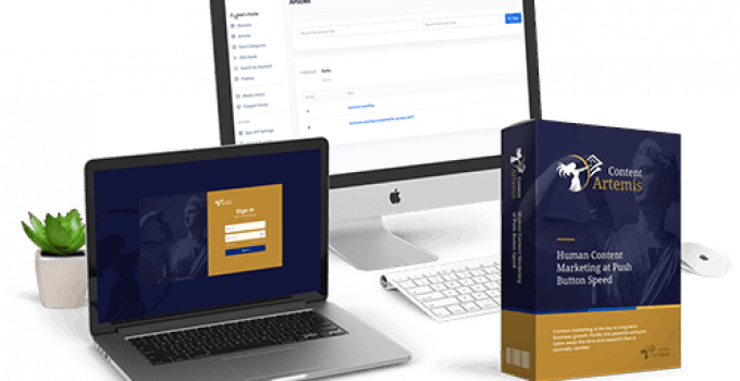 Content Artemis Review – The Most Complete Hands Off Content Machine 2021