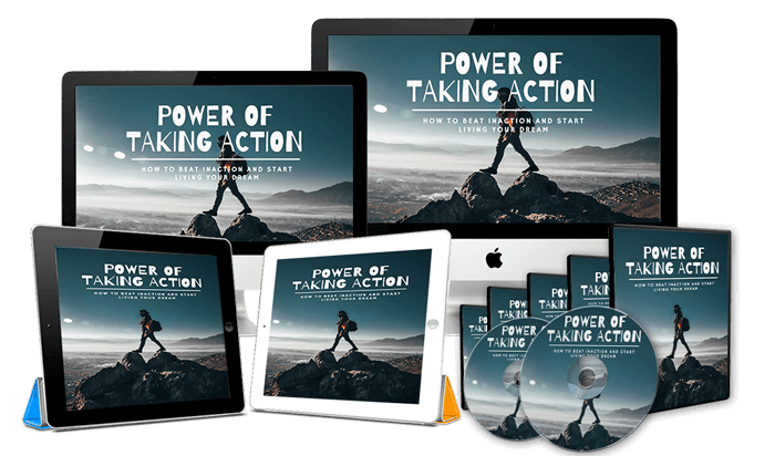 Power Of Taking Action PLR Review