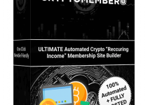 CryptoMember Review – Create Fully Automated Crypto Membership Sites